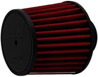 "AEM AIR FILTER; 2.5"" X 5"" DRYFLOW- W/HOLE"
