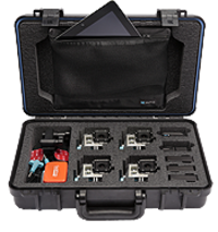 UK Pro POV60 camera case for 4 GoPro HERO cameras